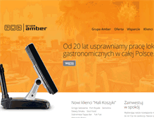 Tablet Preview of ambergrupa.pl